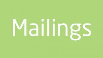 Permalink auf:Lettershop / Mailings